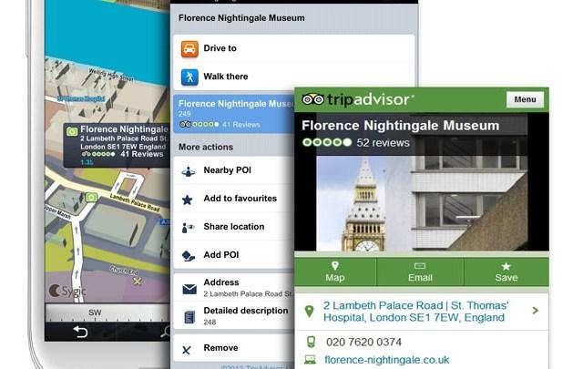 Sygic GPS agora com extensoes grátis do Tripadvisor e outros