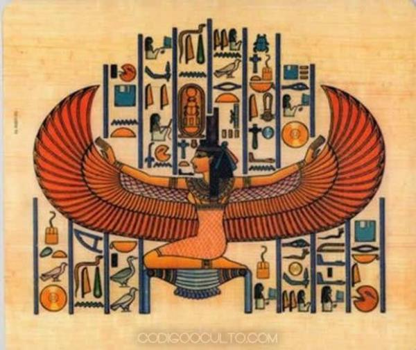 "The god Osiris.  According to Egyptian mythology, Osiris came down from heaven in a ""flying ship"".  Was it a UFO?"