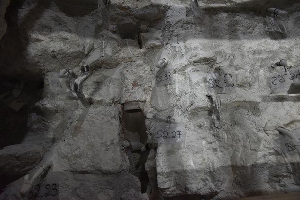 El lecho de roca original de la tumba de Jesucristo