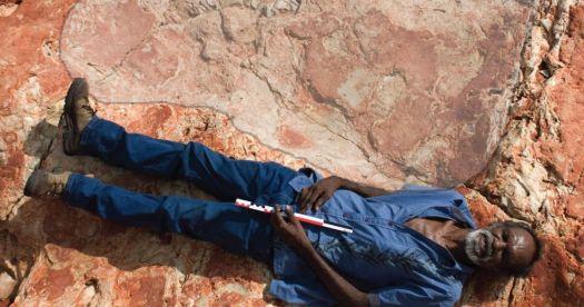 La huella más grande de dinosaurio ha sido encontrada en el «Jurassic Park» de Australia