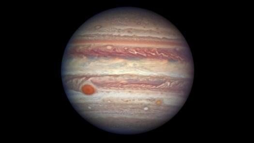 NASA capta fotografía de la mítica Gran Mancha Roja de Júpiter