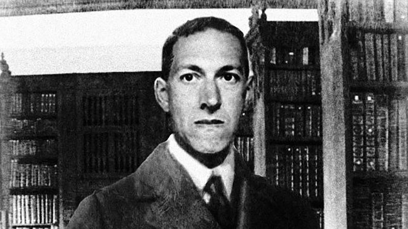 El escritor Howard Phillips Lovecraft