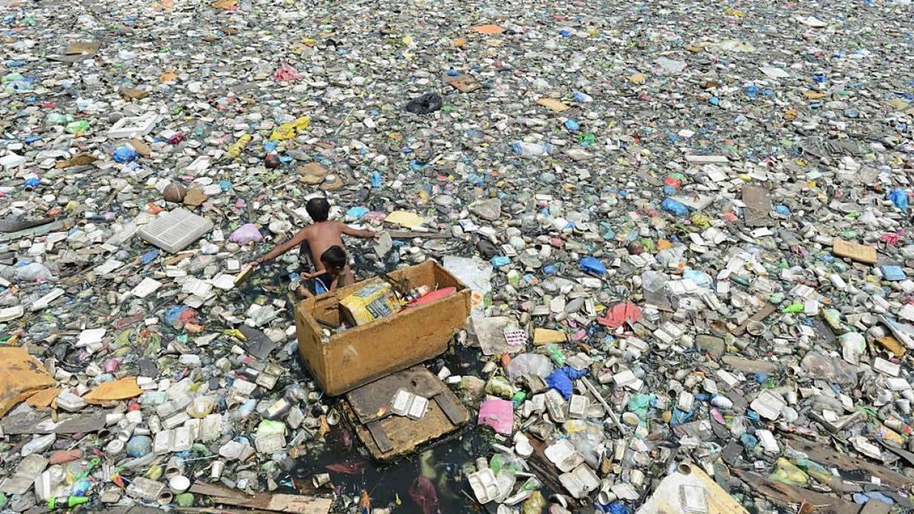 Resultado de imagen para oceano pacifico basura radioactiva