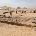 Hallan restos de un Templo de Ramsés II cerca de las Pirámides de Giza