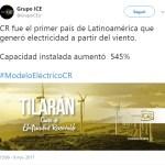 Costa Rica alcanza los 300 días usando energías renovables en su totalidad