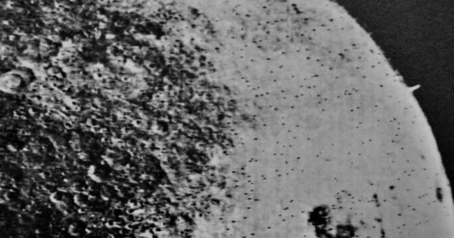 A gigantic tower on the surface of the Moon? alien bases on the moon