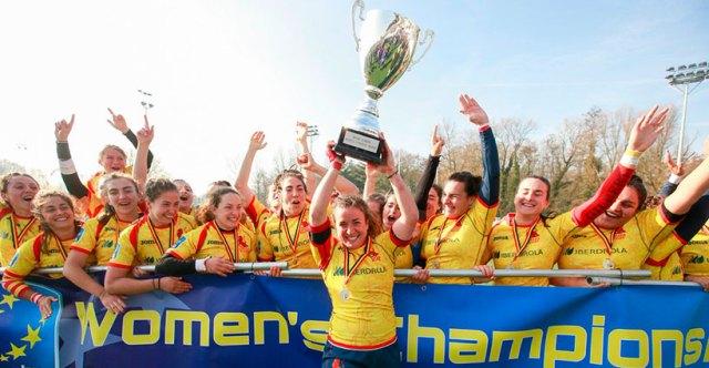 Las Leonas triunfan y el rugby femenino español sonríe