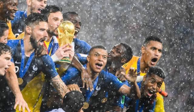 Las estrellas del Mundial
