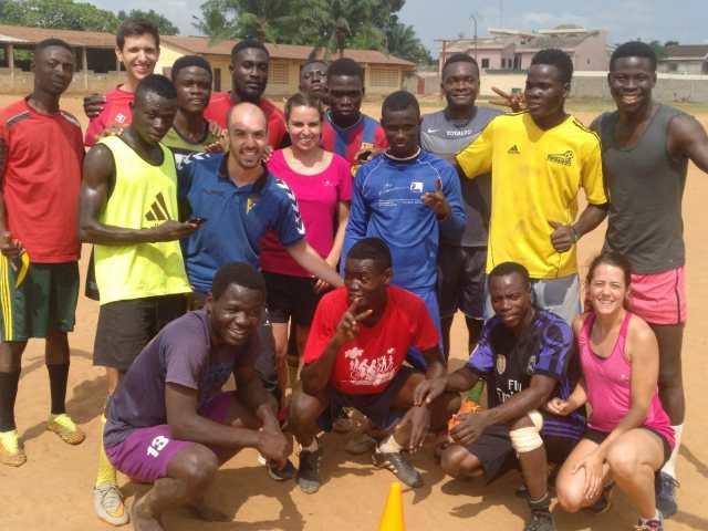 Unas vacaciones diferentes: voluntarios en África