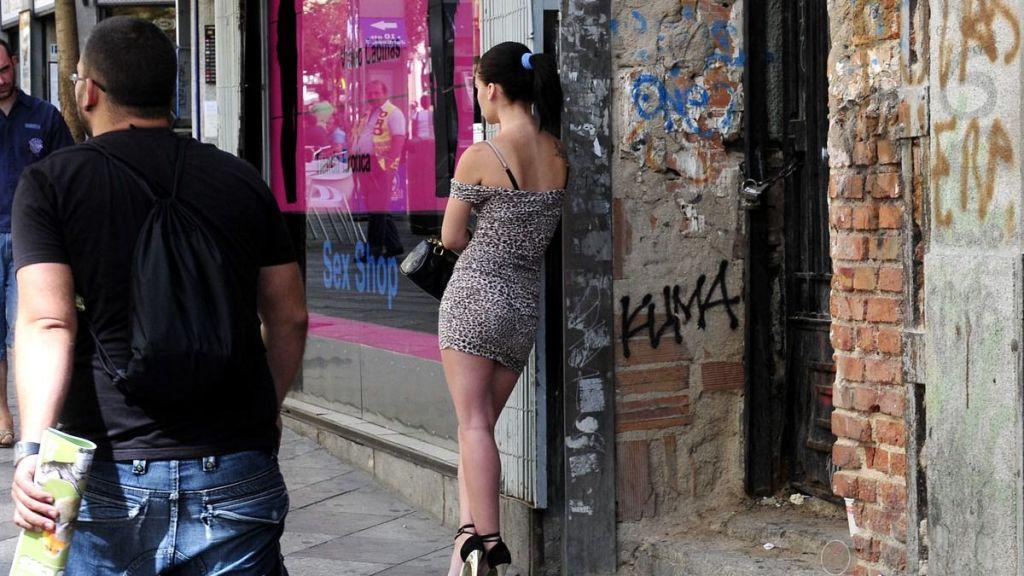 Prostituta en la calle Montera