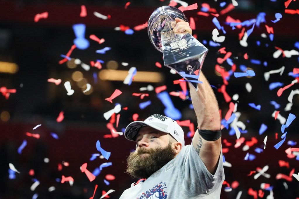 Edelman MVP de la Super Bowl LII