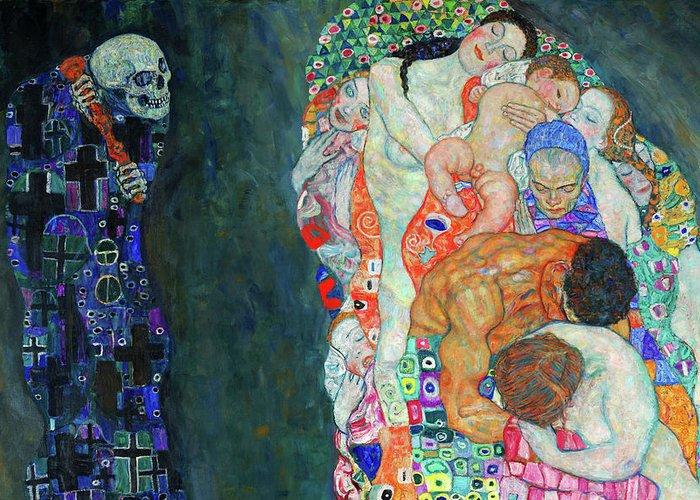 Muerte y Vida, Gustav Kilimt