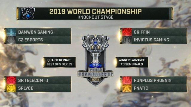 Worlds 2019 Cuartos de Final