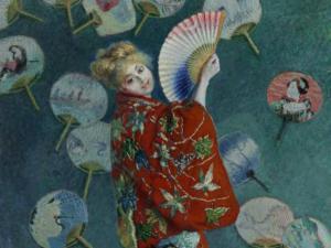 La Japonesa, de Monet - Fuente: Museum of Fine Arts Boston