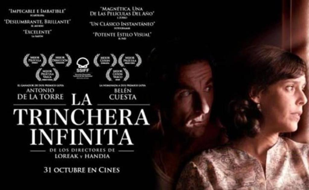 Cartel de 'La trinchera infinita'./ Fuente: Hoy campanario