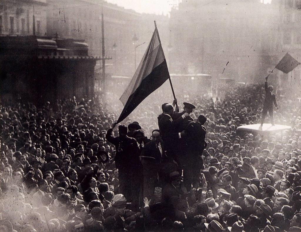 Proclamación de la II República (Licencia: CC BY-SA 2.0)