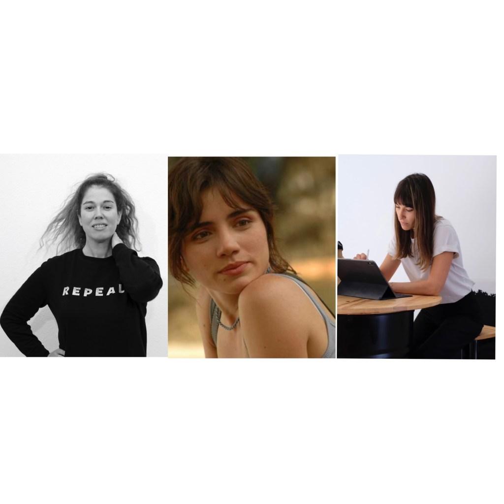 Sonia Lanuzza, Carolina Riveros y Ángela Pérez, tres artistas que trabajan en el medio rural
