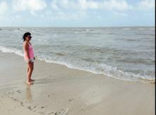 Beach in Progreso