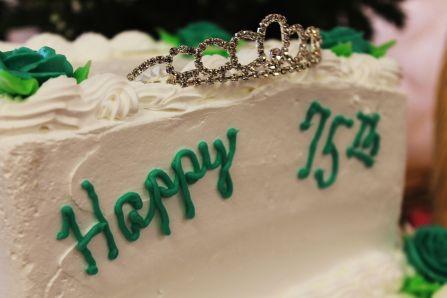A tiara to celebrate 75!