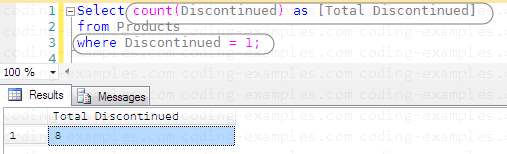 SQL Aggregate with where clause