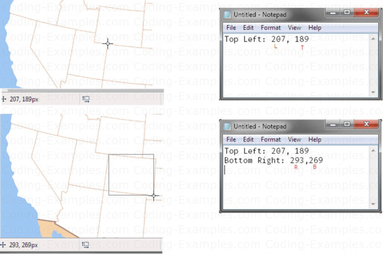 Hotspot Coordinate values for Colorado State