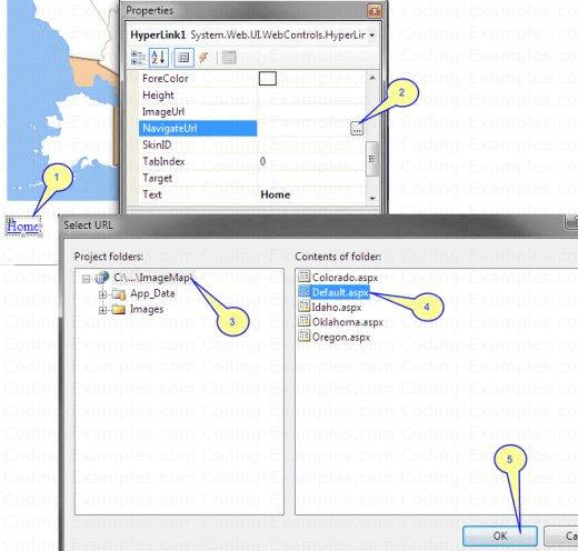 Steps to Setup a Home Page Link