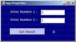 CSharp MathUser Windows Project