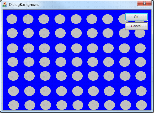 MFC Dialog Background Example