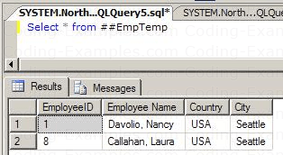 Accessing Global Temp table from a different SQL Session
