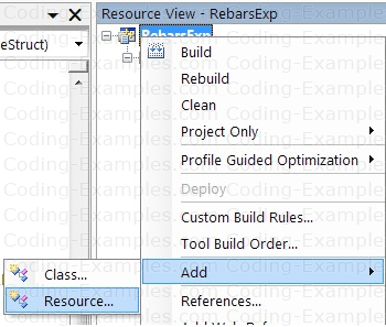 Add Toolbar Resource to SDI Application