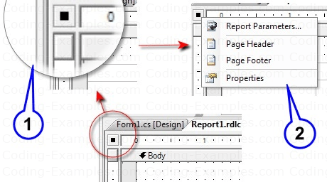 Adding Page Header and Page Footer to RDLC Reports
