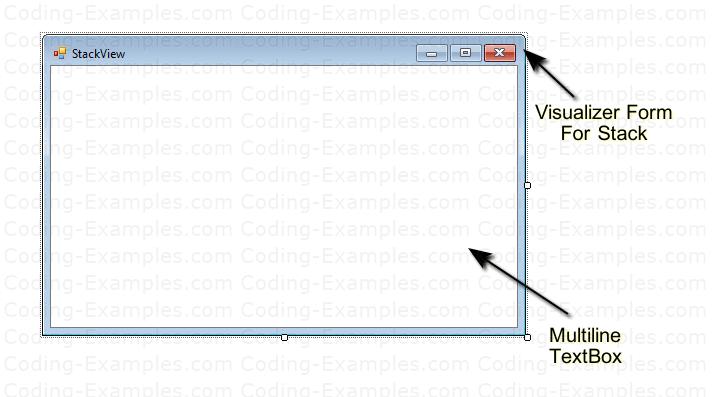 Stack Visualizer Window