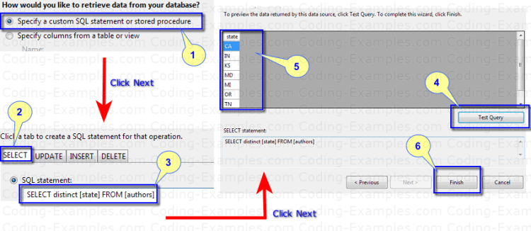 Setting the DataSource for DropDownList Control