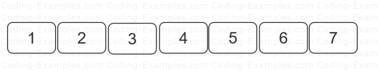 Set of Numbers - Sorted