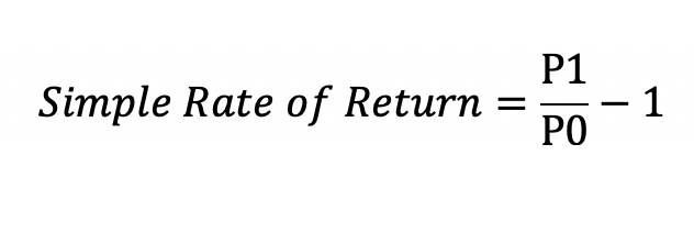 Python Calculate Rate of Return