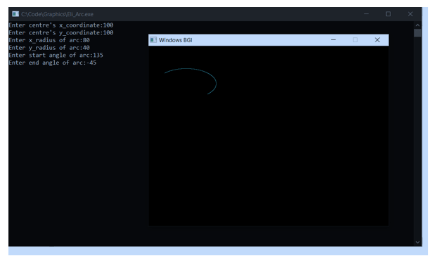 Elliptical Arc Algorithm