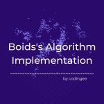 boids algorithm implementation