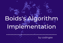 boids algorithm implementation