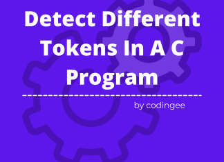 compiler-design-detect-tokens-in-a-c-program