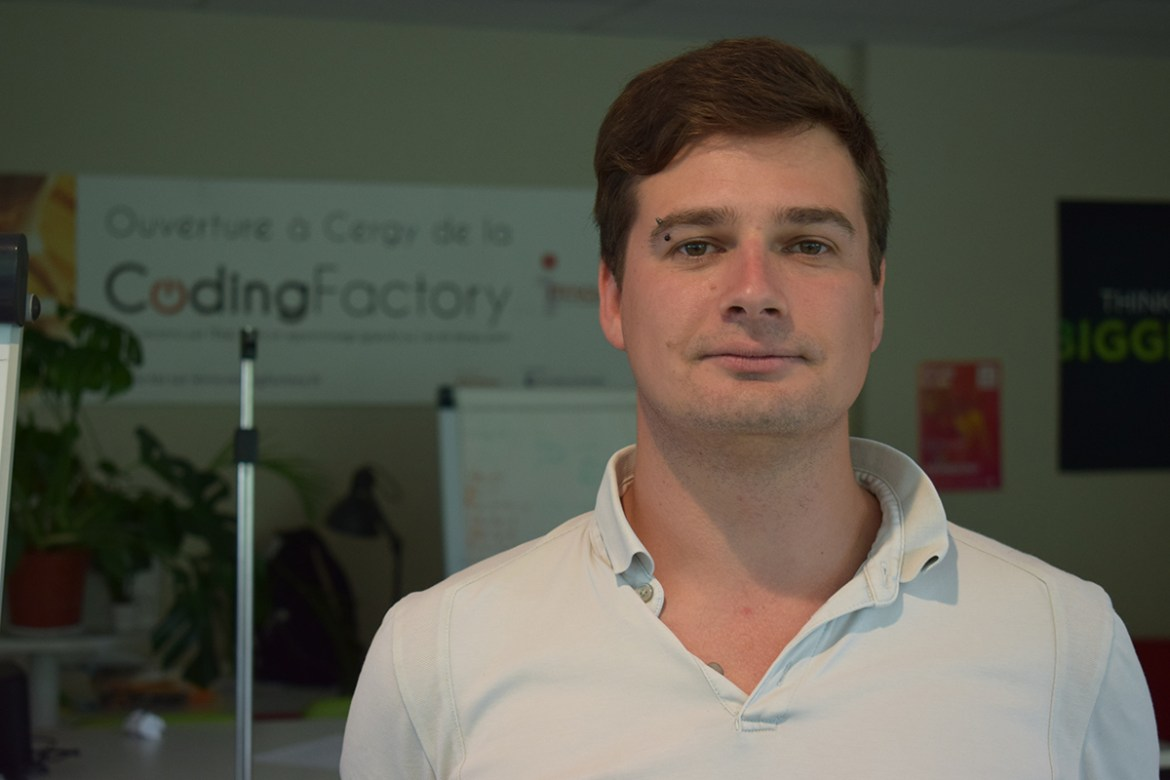 Thomas Millet, chef de projet IT, coding factory, développeur full stack