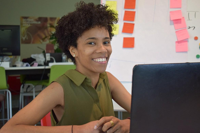 Mathilde Arconte, développeur informatique front end et designer UX