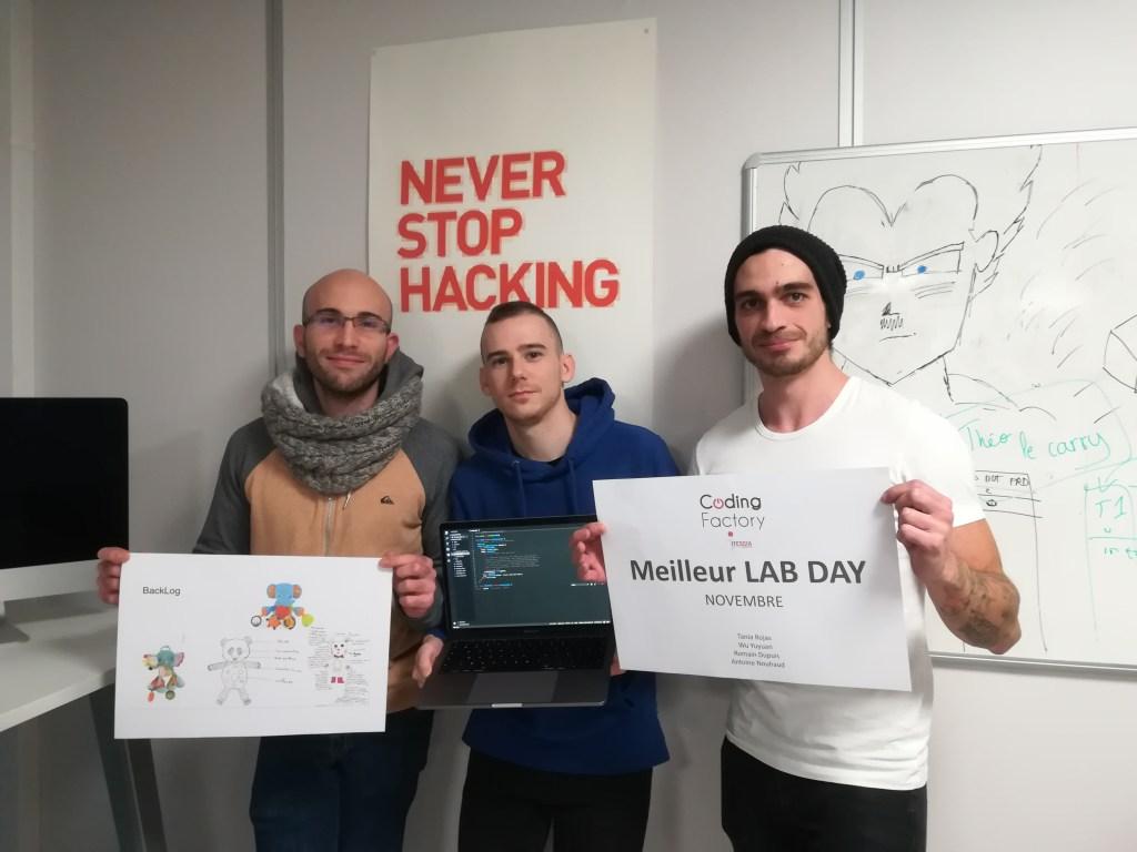 Lab Day Novembre 2019 Coding Factory