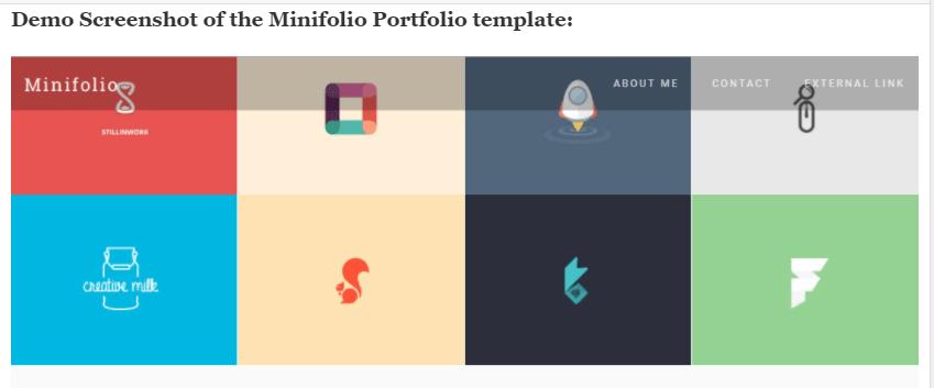 Minifolio