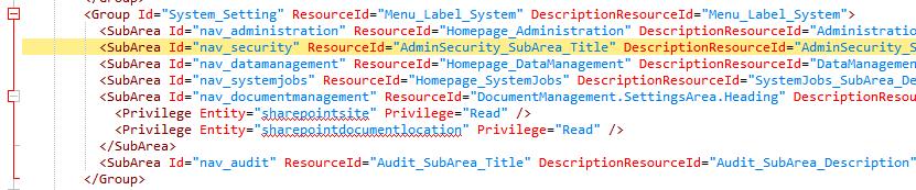 CRM 2013+: Where did my Security menu option go?!
