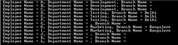 Multiple List Left Join in LINQ