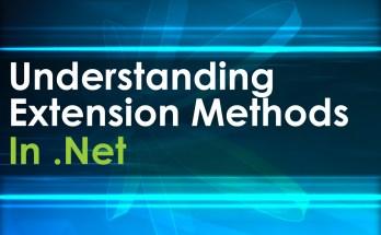 extension methods in dotnet