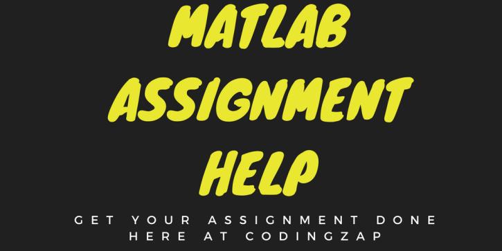 Do my Programming Project- Matlab programming help