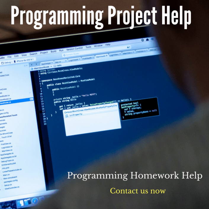 Do my Programming Project