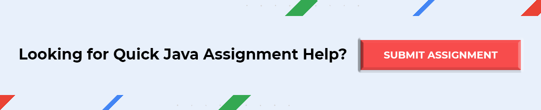 Submit your Java Assignment