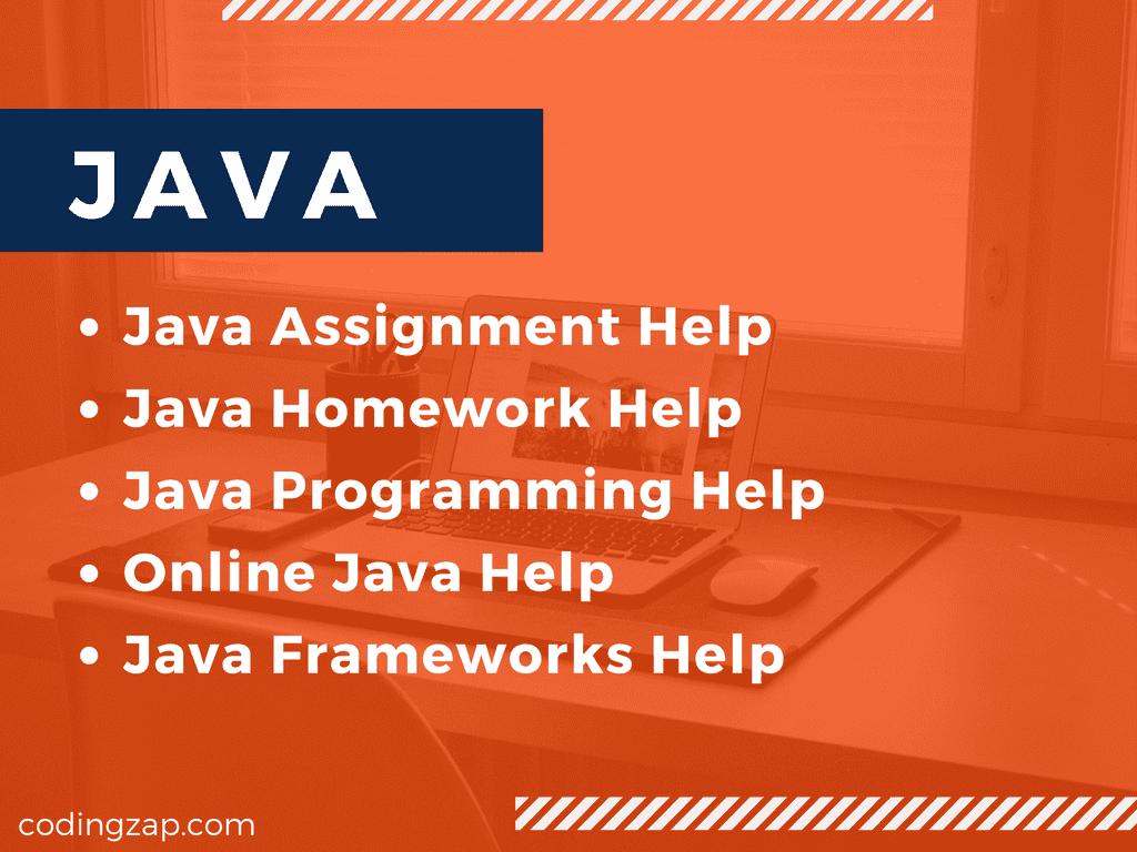 Do my Java Homework, Java Assignment Help
